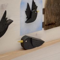 Scultura in legno-Pinocchio-dettagli2