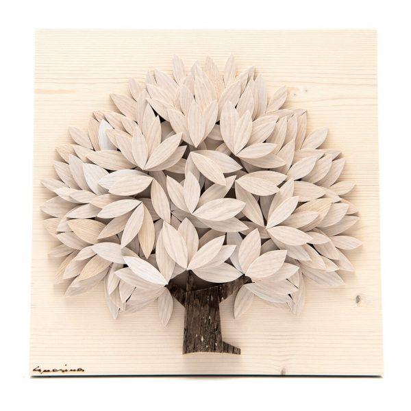 Albero della vita in legno - Sfumature chiare