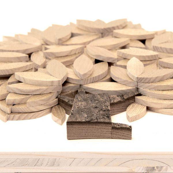 Quadro Albero della vita in legno - Oro - Foglie