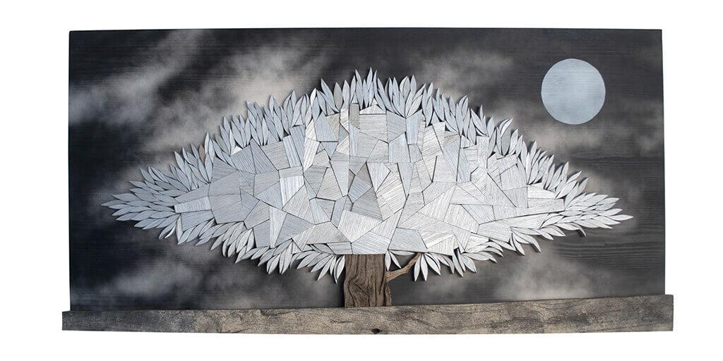Albero alla Luna-Dimensioni 100x6x50