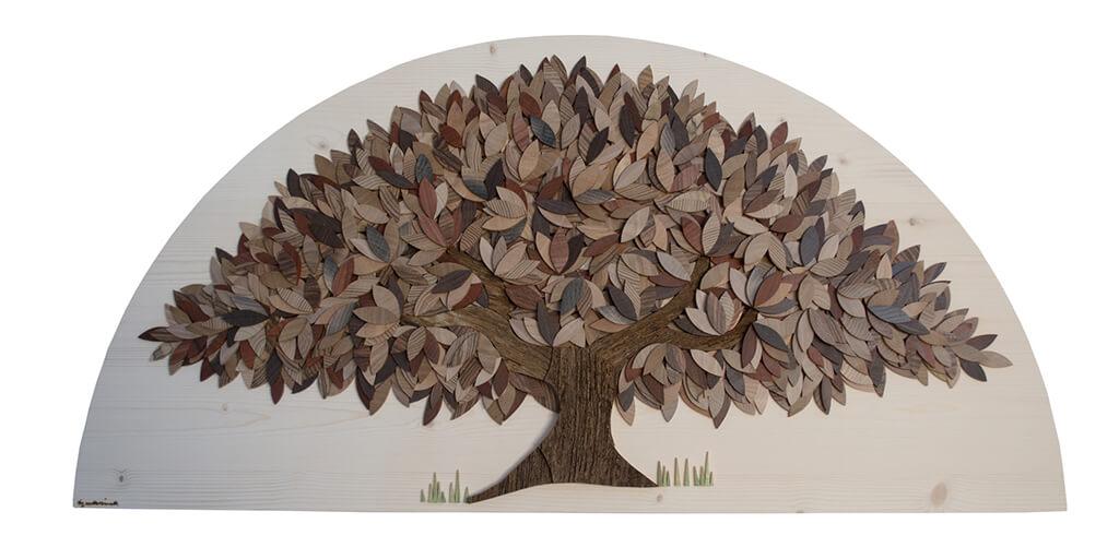Albero dell'autunno - Dimensione media 100x 6 x 50  cm (b x p x h)